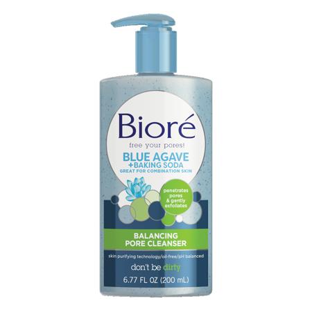 Clear Pore Cleanser - Biore Baking Soda Pore Cleanser for Combination Skin (6.77 oz)