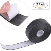 2Pcs Tub and Wall Caulk Strip Waterproof Self Adhesive Wall Sealing Tape Flexible Peel and Stick