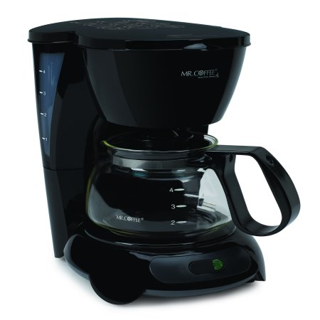 Mr Coffee Simple Brew 4 Cup Switch Black Coffee Maker 1