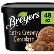 Breyers Original Frozen Dairy Dessert Extra Creamy Chocolate 48 oz