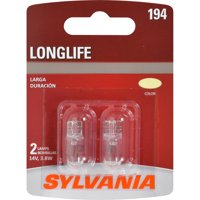 SYLVANIA 194 Long Life Mini Bulb, Pack of 2