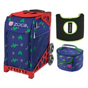 Zuca Cupid Sport Insert Bag Red Frame Gift Lunchbox Seat Cushion