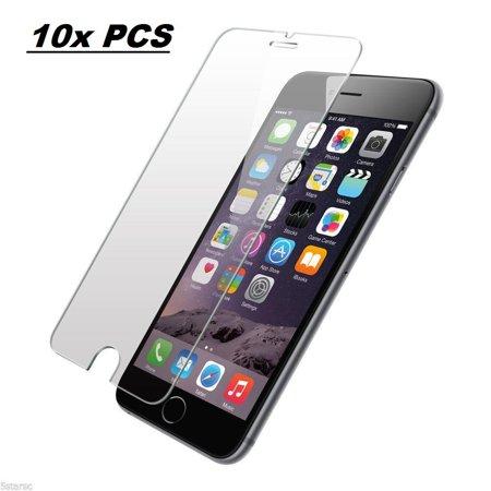 AmazingForLess 10X Premium Tempered Glass Screen Protectors Wholesale Lot - 10 PCS of Screen Protectors for iPhone 6/6S