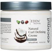 Eden BodyWorks Coconut Shea Medium Hold Natural Curl Defining Crème, 16 fl oz