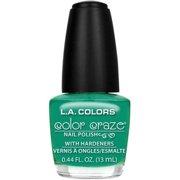 L.A. Colors Color Craze Nail Polish with Hardeners, Palm Tree, 0.44 fl oz