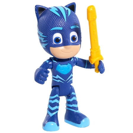 PJ Masks Deluxe Talking Catboy Figure w/ Accessory - Mankind Mask