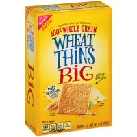 (2 Pack) Nabisco Wheat Thins Big Snacks, 8.0 oz