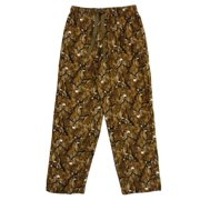 Joe Boxer Mens Brown Buck Flannel Sleep Pants Deer Hunting Pajama Bottoms fc366873b