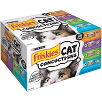 Friskies Cat Concoctions Variety Pack Wet Cat Food- (24) 5.5-oz Cans:
