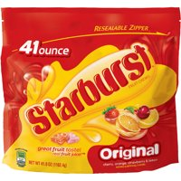 (2 Pack) Starburst Original Fruit Chew Candy, Party Size Oz, 41 Oz