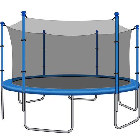 SkyBound NETJZ-1206ST0000 12ft. Trampoline Net for Trampolines using 6 Straight Poles or 3 Arches - image 1 of 1