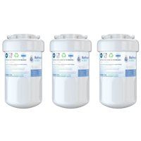 Refresh MWF Replacement for GE MWF SmartWater MWFP GWF Kenmore 46-9991 Refrigerator Water Filter (3 Pack)