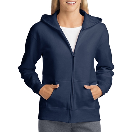 Hanes Pearl (Women's Fleece Zip Hood Jacket)