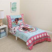 Disney Moana Island Daughter Toddler 4-Piece Bedding Set