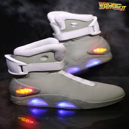 98c2993d33d7a6 Xcoser Japanese Anime Back To The Future Marty Mcfly Shoes Light Up Mens Sneakers  Sport Shoes