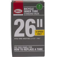"Bell Sports Standard Schrader Replacement Bicycle Inner Tube, 26"" x 1.375"""
