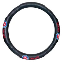 """MLB Chicago Cubs Steering Wheel Cover (Made to fit 14.5""""-15.5"""" steering wheels"""