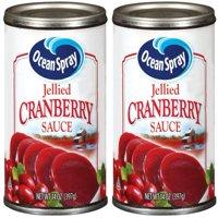 (2 pack) Ocean Spray Jellied Cranberry Sauce, 14 oz