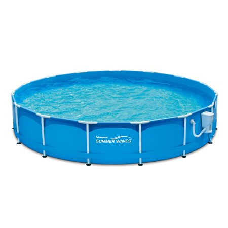Summer waves 15 39 x 33 metal frame pool above ground - Above ground swimming pool supplies ...