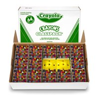 Crayola Crayon Classpack, 64 Colors, Pack of 832