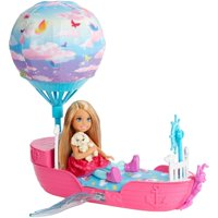 Barbie Dreamtopia Chelsea Doll and Magical Dreamboat