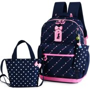 49766347cc74 Children School Bags Teenagers Girls Printing Rucksack school Backpacks  3pcs Set Mochila kids travel backpack