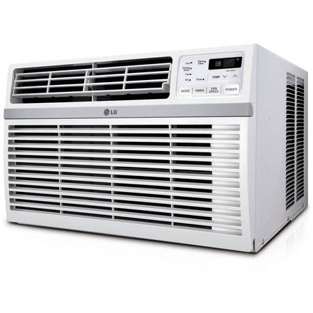 LG LW8016ER 8,000 BTU 115V Window-Mounted Air Conditioner with Remote