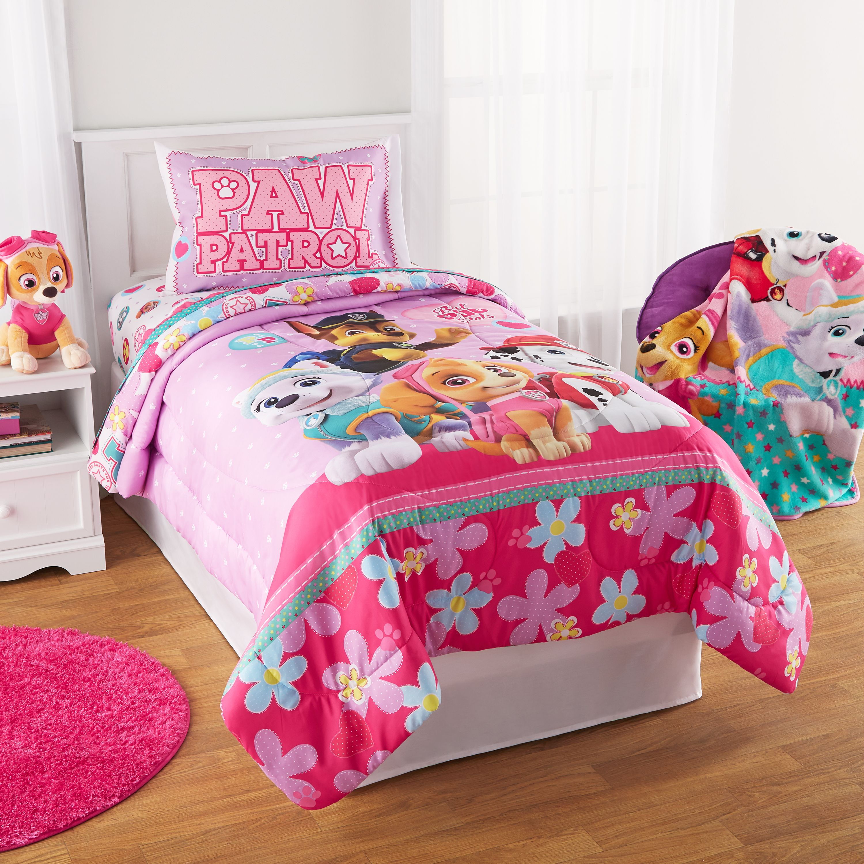 Paw Patrol Girl Best Pup Pals Bed In Bag Bedding Set
