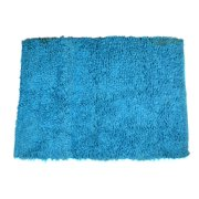 Shaggy Area Rugs 2x3 ft Turquoise Blue Shag Soft Carpet (22''x 33'') Doormat Living Room Bedroom Bathroom Kitchen Entry Way Rug by MystiqueDecors