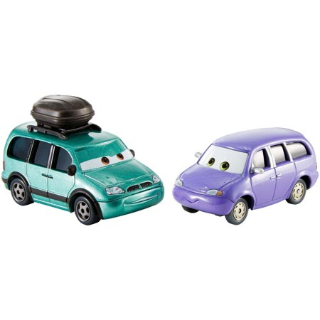 Van De Auto Van (Disney/Pixar Cars 3 Minny & Van Die-cast Vehicle 2-Pack)