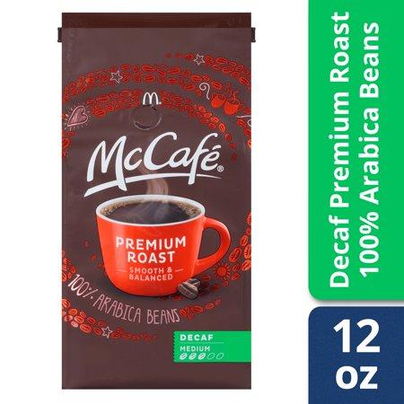 Coffee 16 Oz Jar (McCafé Premium Roast Decaf Ground Coffee, Medium Roast, 12 oz)