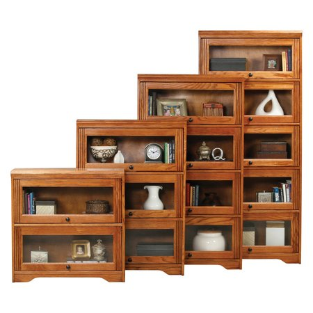 Alder Unfinished Bookcase - Eagle Furniture Oak Ridge Customizable 32 in. Wide Lawyer Bookcase