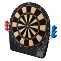 Franklin Sports FS1500 Soft Tip Electronic Dartboard and Darts Set