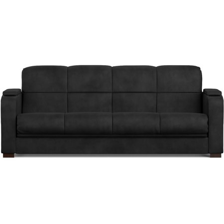 Tyler Storage Arm Convert A Couch And Sofa Bed Microfiber