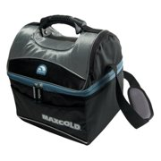 Best Igloo Mens Lunch Boxes - Igloo MaxCold Gripper 16-Qt Lunch Box, Black Review