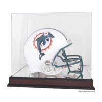 Mounted Memories NFL Helmet Logo Display Case