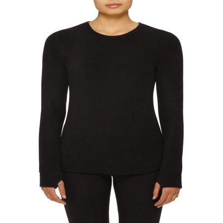 - Women's Stretch Fleece Warm Underwear Long Sleeve Top
