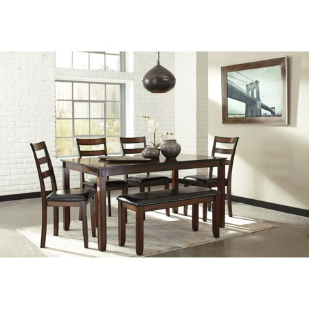 Signature Design by Ashley Coviar 6 Piece Dining Table Set
