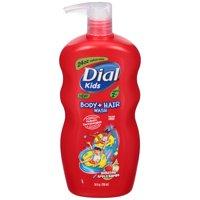 Dial Kids Body + Hair Wash, Bursting Apple Rapids, 24 Ounce