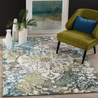 Safavieh Watercolor Daven Abstract Colorful Area Rug or Runner