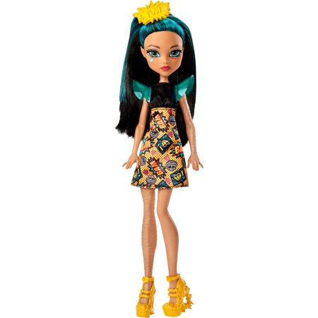 Monster High Cleo De Nile Doll with Comic Book Inspired Dress - Cat Noir Monster High