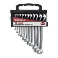 Hyper Tough 11-Piece Combination Wrench Set, SAE