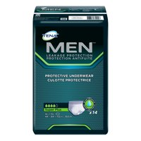 Tena Incontinence Underwear For Men, Protective, Xlarge, 14 Count