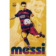 24252be9f Fc Barcelona - Lionel Messi 15 Laminated Poster Print (22 x 34)