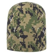 25c5aa94a761d Otto Cap Digital Camouflage Polyester Jersey Knit Beanie 9 1 2
