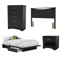 South Shore Step One Full Bed Set