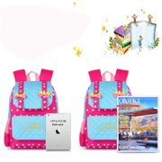 a243e32bd265 Vbiger Casual School Bag Nylon Shoulder Daypack Children School Backpacks  for Teen Girls