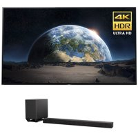 Sony XBR77A1E 77-Inch 4K Ultra HD Smart BRAVIA OLED TV (2017 Model) w/ Sony HT-ST5000 7.1.2ch 800W Dolby Atmos Sound Bar