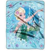 "Disney Frozen ""Elsa Surprise"" 40"" x 50"" Silk Touch Throw"