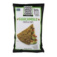 (2 Pack) Food Should Taste Good Guacamole Tortilla Chips, 5.5 oz